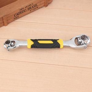 Image 5 - 1ソケットレンチロータリースパナで48スプラインボルトで動作360度回転スパナユニバーサル家具の車の修理ツール