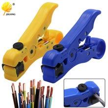 Dénudeur automatique de câble électrique, outils de dénudage pour UTP STP RG59 RG6 RG7 RG11