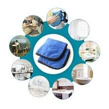 40*40 CENTÍMETROS Auto Care Super Grosso Plush Microfibra Panos de Limpeza Do Carro Cuidado de Carro Cera Cera De Polimento de Microfibra Detalhamento Toalhas