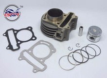 Performance 47MM Cylinder Piston Ring Gasket Big Bore Kit GY6 80CC 72ML Jonway Jmstar Yiying Wangye
