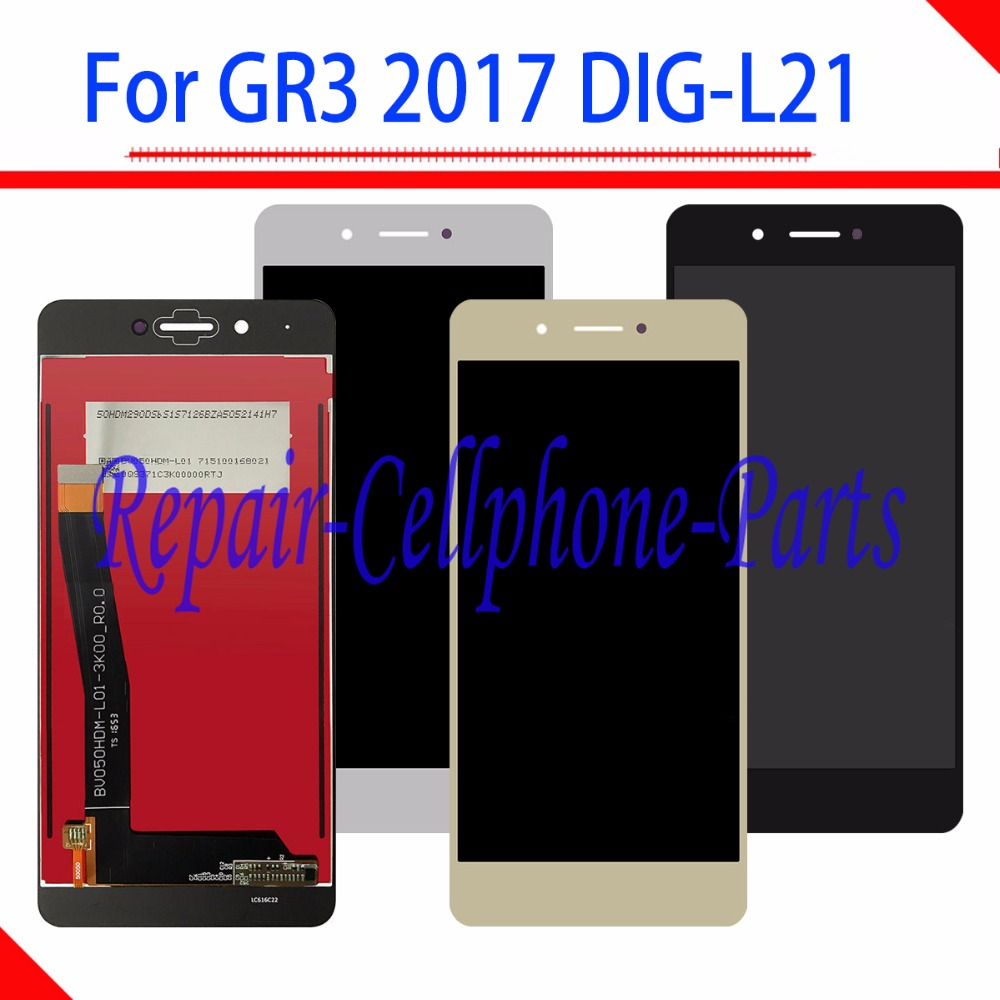 5.0 inch Full LCD DIsplay+Touch <font><b>Screen</b></font> Digitizer Assembly For <font><b>Huawei</b></font> <font><b>GR3</b></font> <font><b>2017</b></font> ( Diego) DIG-L21 image