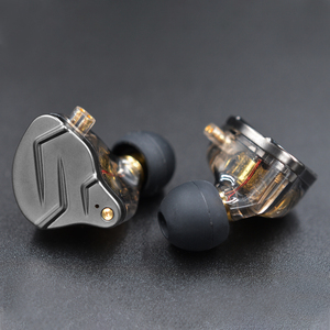 Image 3 - KZ ZSN Pro In Ear Earphones Hybrid technology 1BA+1DD HIFI Bass Metal Earbuds Sport Noise Cancelling Headset Monitor