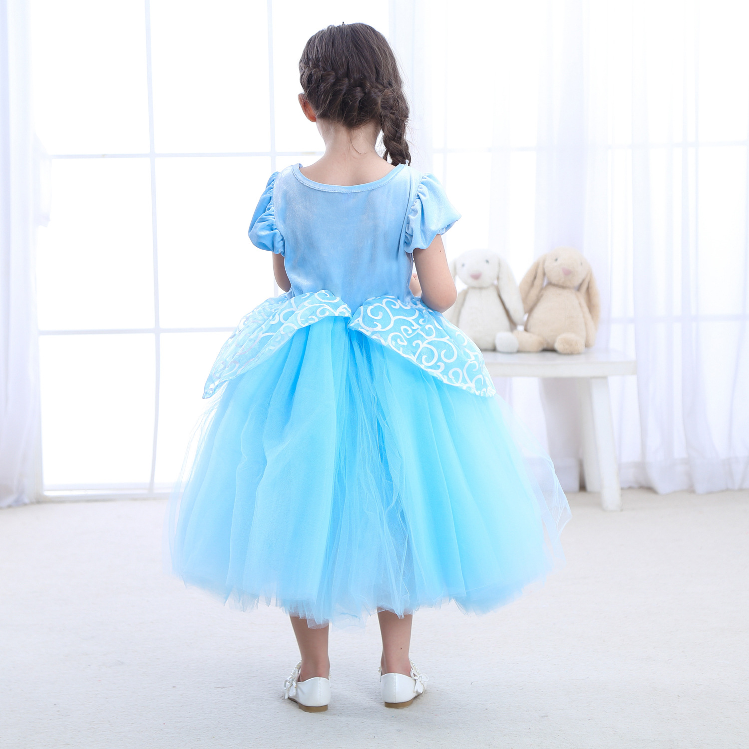 christmas New Year Children Party Dresses For Girls Elsa Dress Princess Cinderella Cosplay Costume Baby Kids Clothing in Girls Costumes from Novelty Special Use
