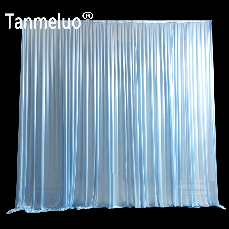 3x6m Ice Silk Simple White Wedding Backdrop Curtain Drap Background for Wedding Party Decoration3x6m Ice Silk Simple White Wedding Backdrop Curtain Drap Background for Wedding Party Decoration