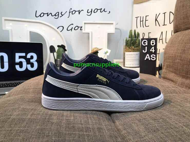 rebajas outlet lindo baratas zapatos clasicos free shipping Puma shoes men reproduction of the classic leather ...