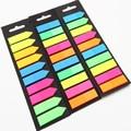 200 blätter Fluoreszenz Selbst Adhesive Memo Pad Sticky Notes Lesezeichen Marker Memo Aufkleber Papier Student büro Liefert