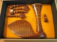 Violin accessories high end snake wood violin accessories imported snake wood violin accessories fine workmanship