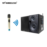 TP WIRELESS 2.4GHz Classroom Speaker Teaching System Handheld Microphone and Black Speaker for teacher/Church/Conference Room