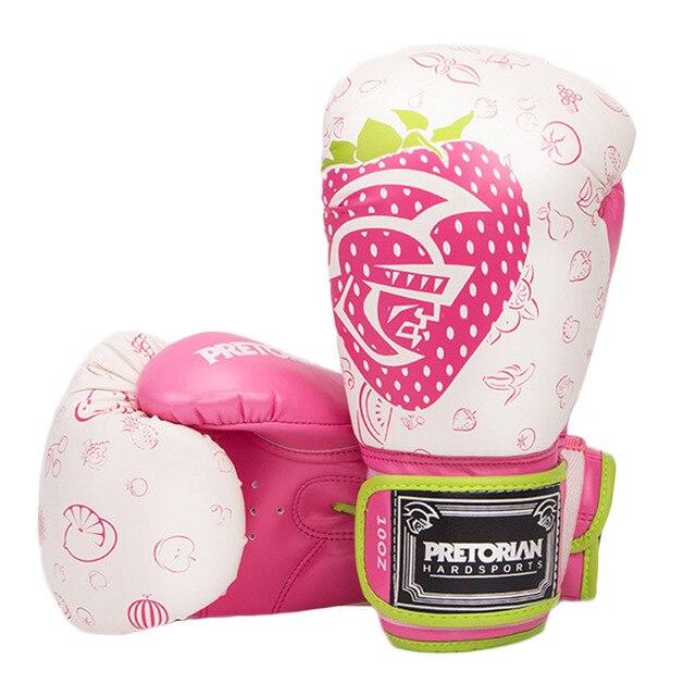 2018 New Men Women 10OZ 12OZ Boxing Gloves Muay Thai MMA Kick Boxing  Fighting Training Punching PU Leather Gloves E