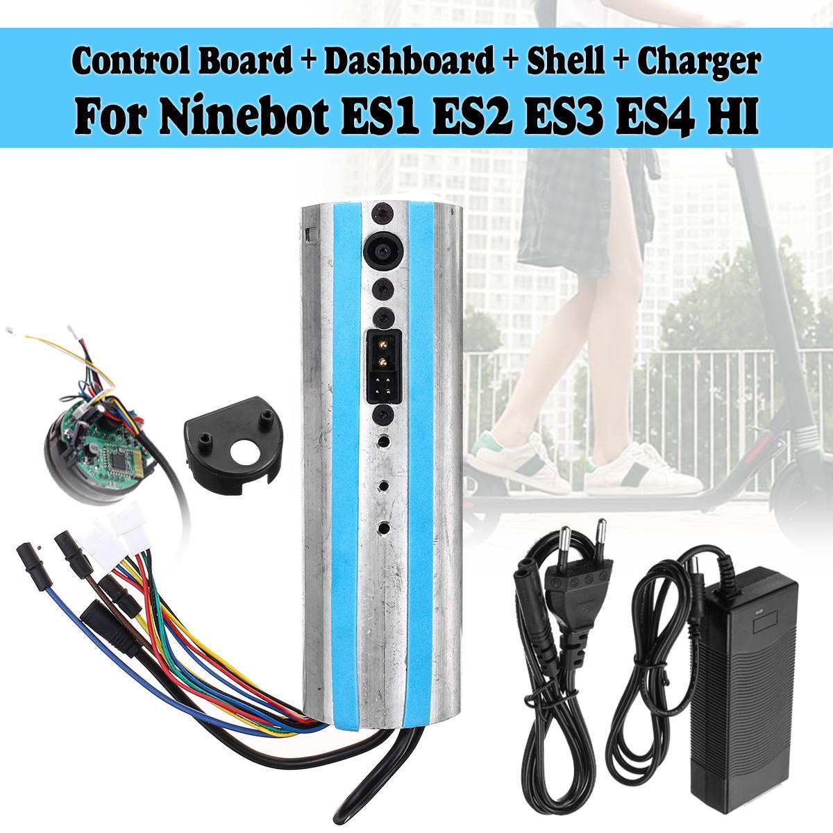 Scooter électrique activé bluetooth tableau de bord carte mère contrôleur et chargeur pour Ninebot ES1 ES2 ES3 ES4