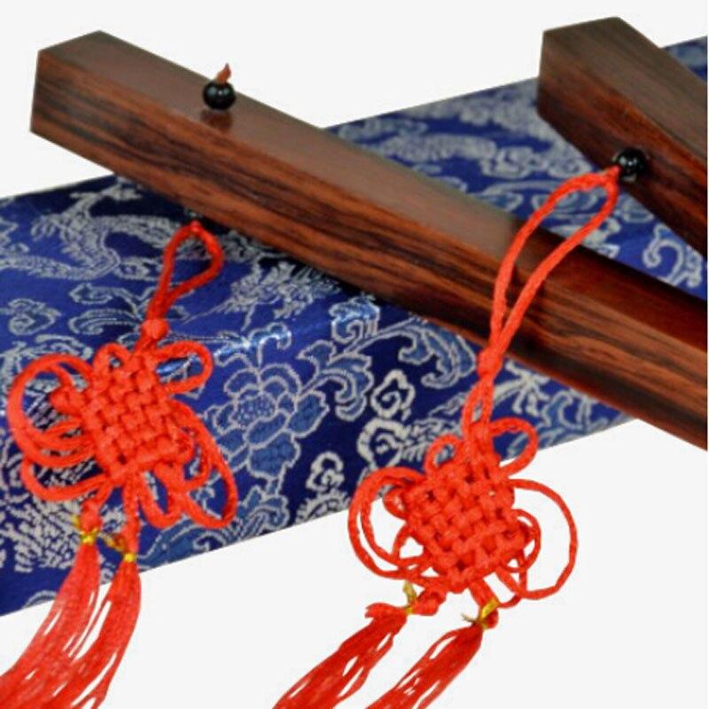 Distaff chinois (édition Collector en acajou) tours de magie bâtons chinois Illusions de scène accessoire mentalisme spectacles de magie drôles