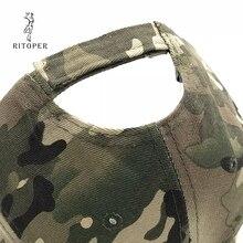 RITOPER Camouflage Outdoor Baseball Caps Army Jungle
