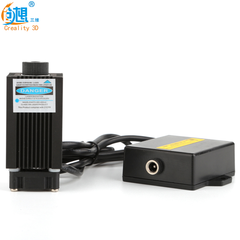 Free Shipping!12V Spot Laser Head For Crealtiy CR-8 3D Printer High-power Blue Violet Light  Laser Engraving Laser With Focusing laser head sf bd412 v bdp3100