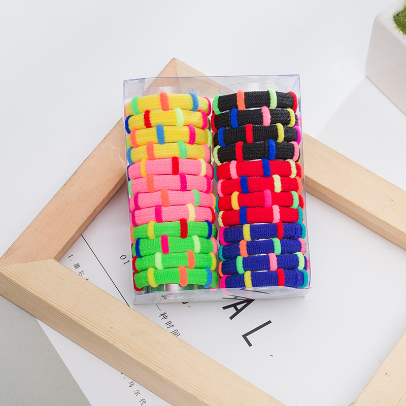 1PCS Colourful Hair Accessories For Women Headband,Elastic Bands For Hair For Girls,Bamboo Polyester Hair Band Hair For Kids