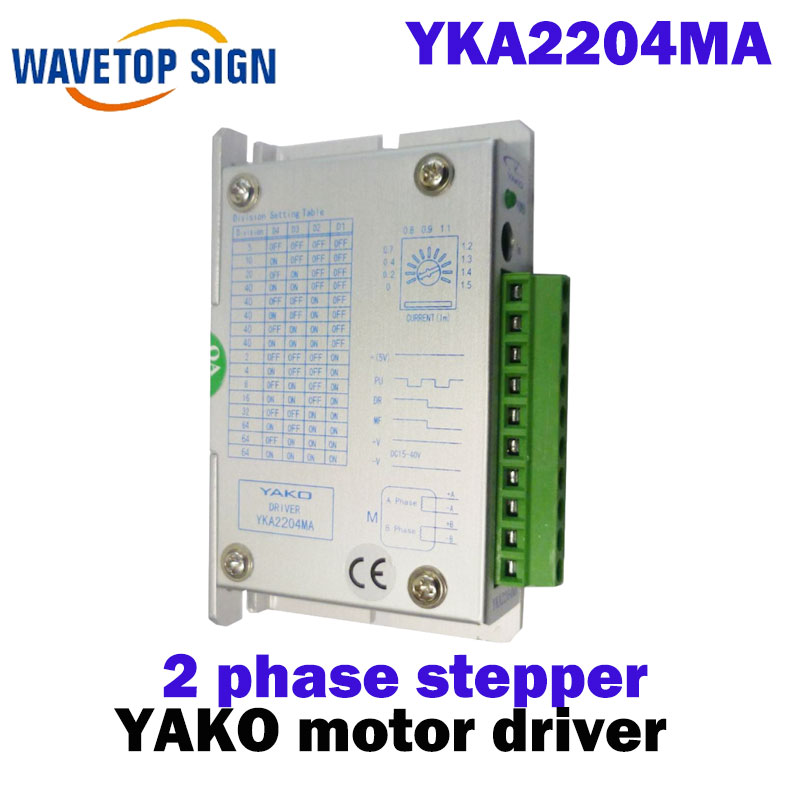 driver YKA2204MA        yako 2 phase stepper driver YKA2204MA driver yka3606ma yako 3 phase stepper driver yka3606ma c6 yka3606ma c6
