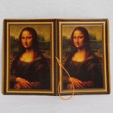 Mona Lisa Passport Cover