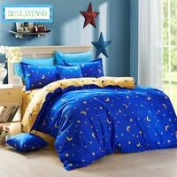 BEST.WENSD wholesal Polyester Stars bed linen Home textile,3/4 Pc bedding Duvet Cover sets bed comforter princess bedding set