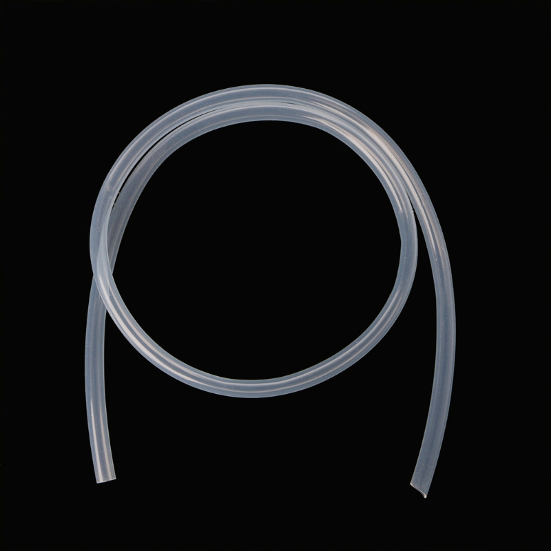 <font><b>8mm</b></font> ID x 10mm OD Food Grade Silicone Tube Flexible <font><b>Hose</b></font> Pipe 1m Transparent image