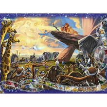 Lion king diamond Embroidery diy painting mosaic diamant 3d cross stitch pictures H643