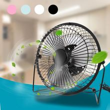 LILENG New USB Desk Fan Metal Mute Office Home Personal Mini Table Portable Outdoor Fan цена и фото