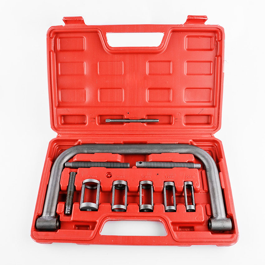 CHIZIYO For Car Van Motorcycle Engines 11pcs/Set Air Valve Spring Compressor Kit Removal Oil Seal Disassembly Tool