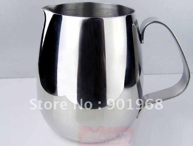 2pcs stainless steel Latte milk jug-milk pot-350ml