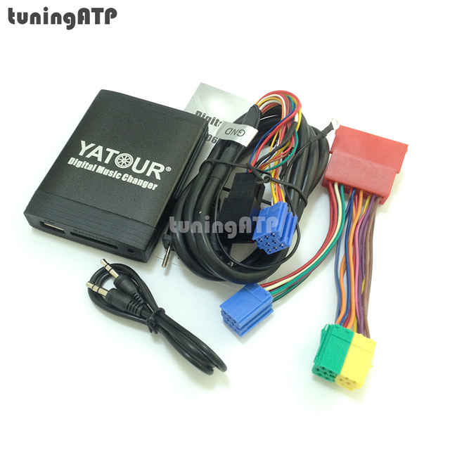 yatour digital music changer usb sd aux mp3 adaptor for audi radio rh aliexpress com Audi A4 Wiring Diagram Electrical Schematic 2006 Audi A8