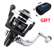 Erchang Carbon Drag Spinning Reel with Larger Spool Drag Sea Boat Spinning Fishing Reel For DAIWA For SHIMANO Fishing Rod(China)