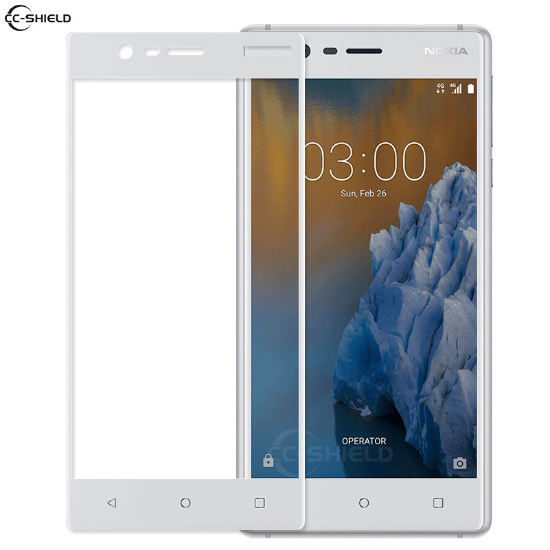 new arrival 485df 6bd50 US $2.81 6% OFF|Full Cover Glass for Nokia 3 TA 1032 TA 1020 TA 1028 Screen  Protector Film for Nokia3 TA 1032 1028 1020 Nokia 3 Tempered Glass-in ...