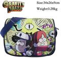 Gravity Falls Dipper Pines Nylon Bag Otaku Zip Should Message Backpack