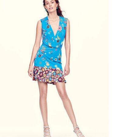 De Soie Bleu Jersey Imprimé Sans Robe Haute Femmes Qualité 2016 Manches Piste Designer Xxl Abstrait Taille Z1w6SI