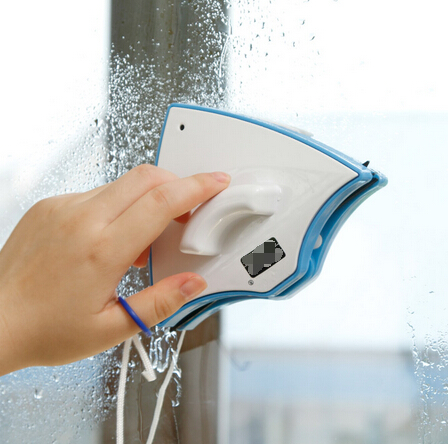 Recién llegado de plástico + imán doble cara de limpieza de vidrio herramientas