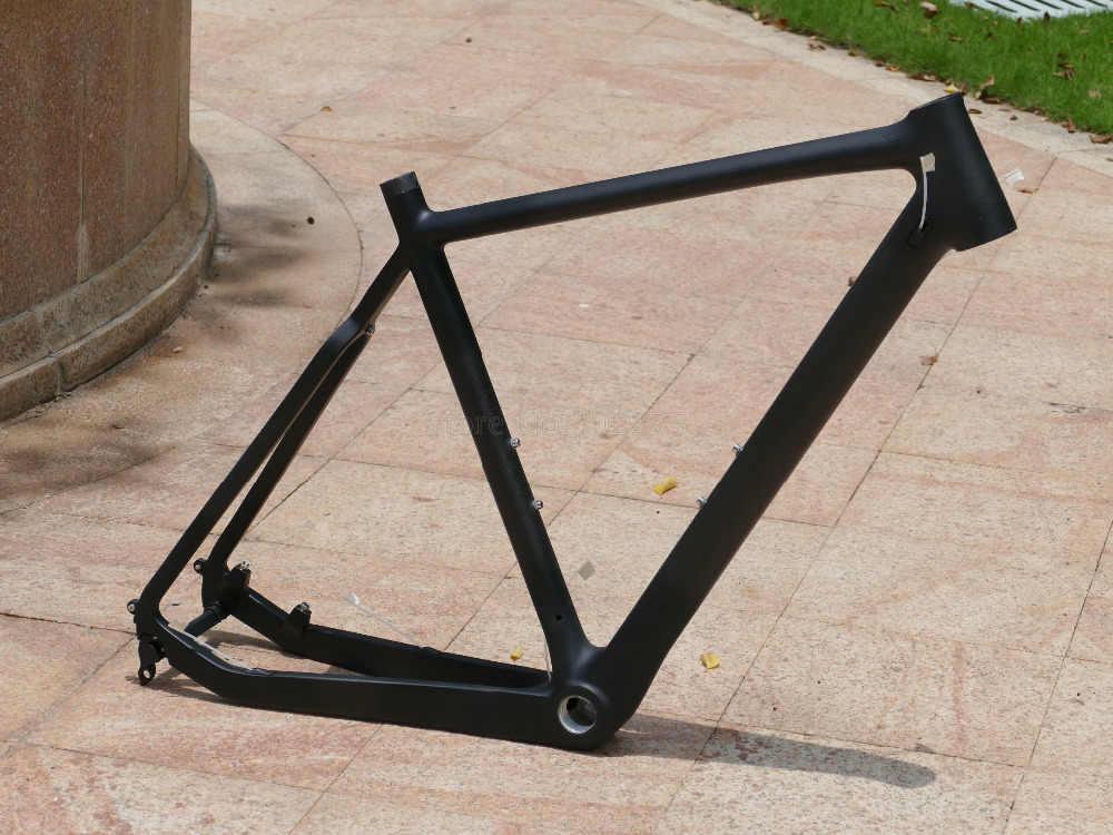 2018' Toray carbono Ciclocross bicicleta carreras ciclismo marco disco freno Cyclo Cruz marco