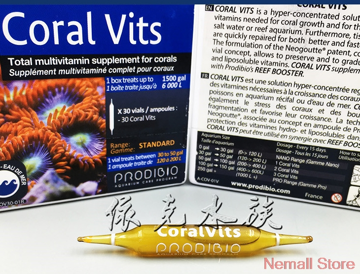 Original PRODIBIO Bio Coral Vits For Total Multivitamin Supplement For Corals 2