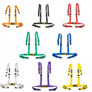 Image 2 - Different colors  2inch  Universal Vehicle Racing 4 Point Auto Car Safety Seat Belt Buckle Harness EPM 02BUC