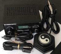 プロデジタルデュアルブラックタトゥーマシン電源キットw/2クリップコード& 1ピース陰陽タトゥーフットペダル&あなたの国プラグ