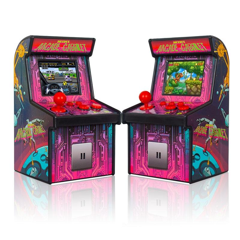 Wolsen 16 bit Arcade handheld game machine 2.5 inch arcade adventure 200 games portable system mini arcade retro console
