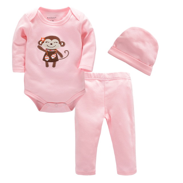 afbbb4ba6676 3PCS Newborn Baby Set Baby Girls Clothes Sequined Hello World Romper Long  Pants Headband Infant Set Autumn Kids Cotton Baby Suit