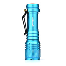 Skywolfeye Super 6000LM CREE Q5 AA/14500 3 Modes ZOOMABLE LED Flashlight Torch Super Bright Dropshipping 0206