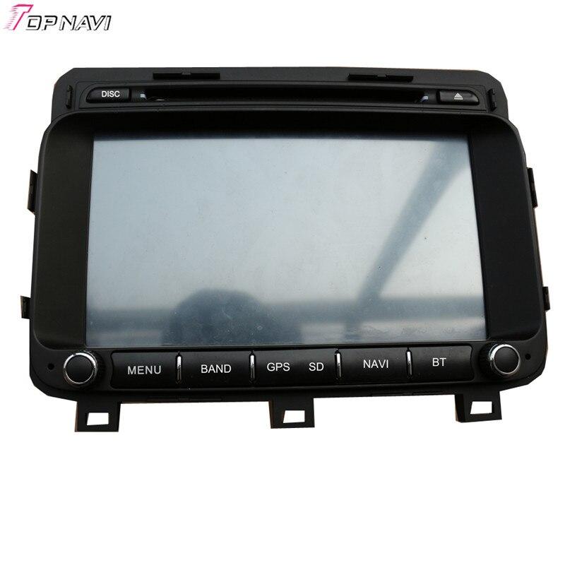 Topnavi 8 ''Quad Core Android 6.0 voiture DVD jouer pour KIA K5/OPTIMA 2014-/Magentis Autoradio GPS Navigation Audio stéréo - 3