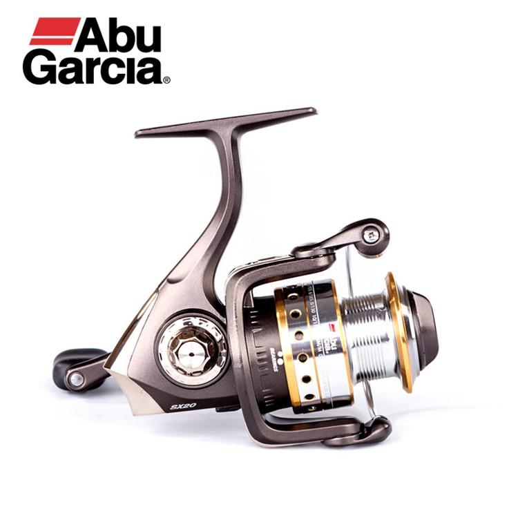 ABU GARCIA Original CARDINAL SX Spinning Fishing Reel 1000-4000 Front-Drag Fishing Reel 5+1BB 100% abu garcia 6 1 ball bearings pro max spinning 500 1000 2000 3000 4000 series fishing reel machined aluminum spool