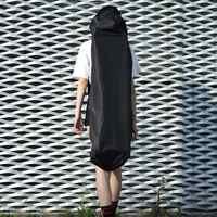 Sac à dos Longboard noir réglable sac de transport Skateboard planche de danse dérive conseil voyage Longboard sac à dos sac à bandoulière cordon