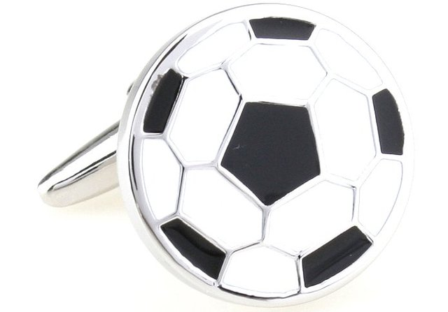 Freeshipping!! Soccer Themed Executive Cufflinks Novelty Cuff link Shirt Cufflink