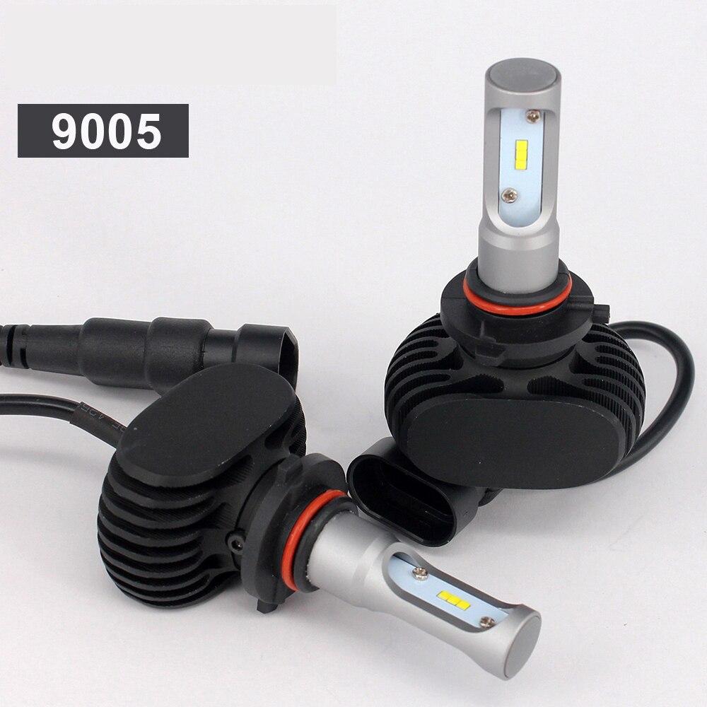 1 set 9005 LED HB3 H10 Super svetleče LED žarometi avtomobilski - Avtomobilske luči - Fotografija 4