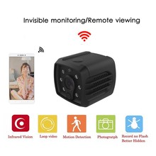 Camsoy Mini HD 1080P Camera IP Wireless Wifi Security Video Camcorder Infrared Night Vision Surveillance Motion Detection DVR DV
