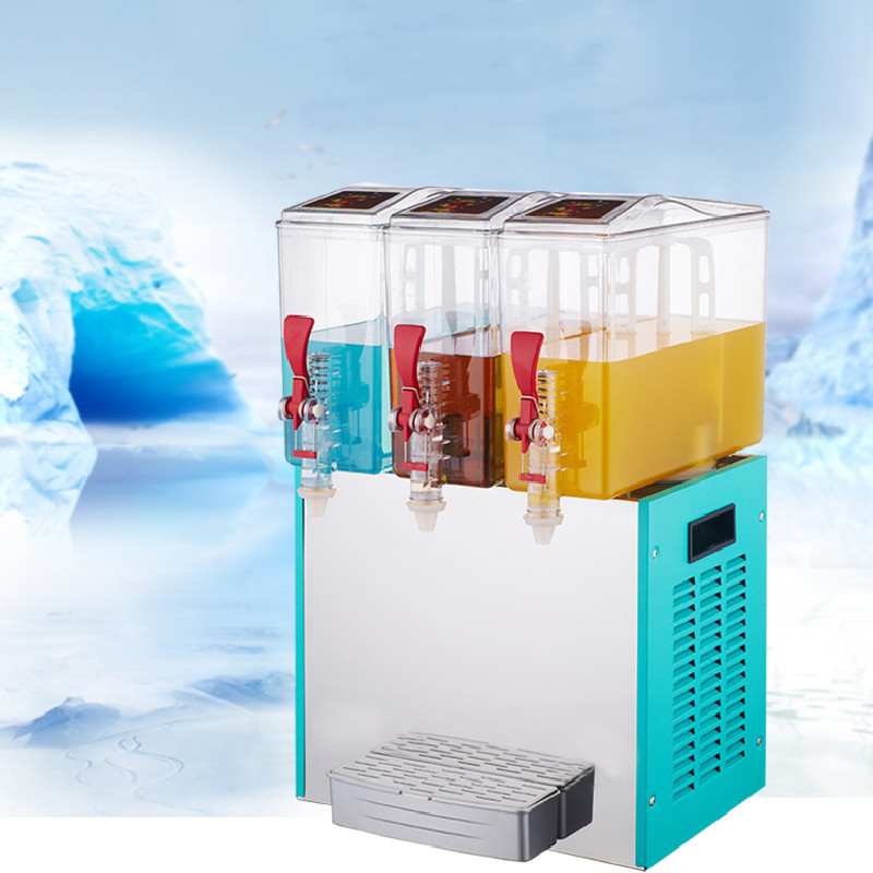 Jamielin 10L*3 Commercial Beverage Cold Drink Machine Three Cylinder Multifunctional Cold And Hot Juice Making Machine