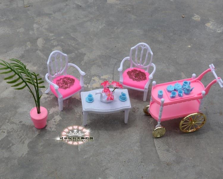 Hot Prodaja Doll Namještaj Dining Cake Car Pribor za Barbie Ken Doll - Lutke i pribor - Foto 6