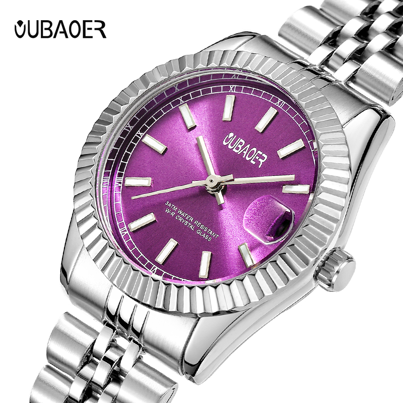 2017 OUBAOER Original Brand Women Watches Luxury Quartz Watches For Women montre femme clock women relogios feminino horloge2017 OUBAOER Original Brand Women Watches Luxury Quartz Watches For Women montre femme clock women relogios feminino horloge