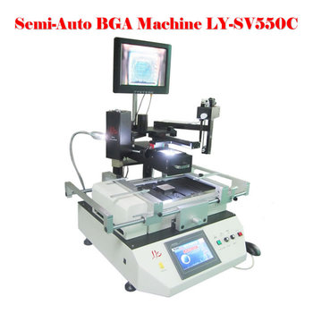 Automatic optical alignment station LY SV550C BGA rework station for mobile phone repair 2