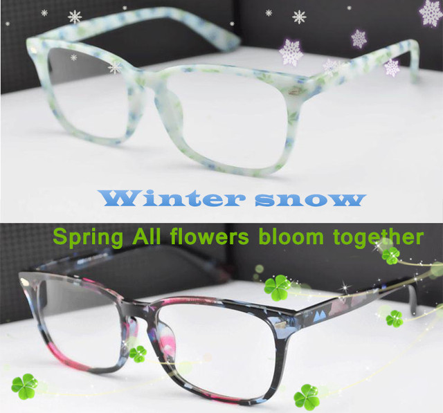 eye glasses frames Winter aftertaste spring greetings Retro fashion Big eyeglasses frames men women decorations optical glasses